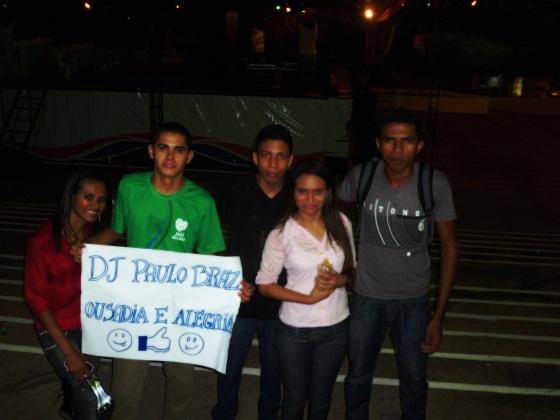 CARINHO DOS JOVENS CARISMATICOS DE VARGEM GRANDE (NO MEIO, DJ PAULO BRAZ. NA DIREITA, DJ MARCELO COSTA)